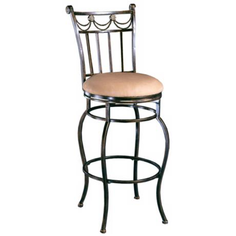 "Hillsdale Camelot II Swivel 26"" High Counter Stool"