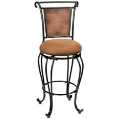"Hillsdale Milan Swivel 26"" High Counter Stool"