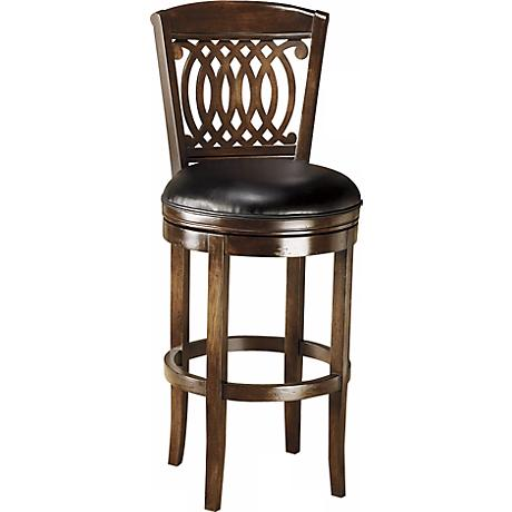 "Hillsdale Vienna Swivel  25"" High Counter Stool"