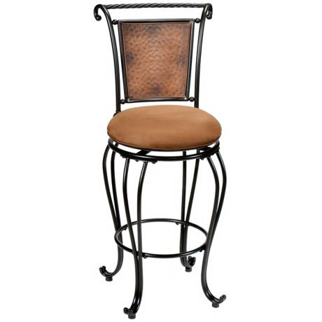 "Hillsdale Milan Swivel 30"" High Bar Stool"