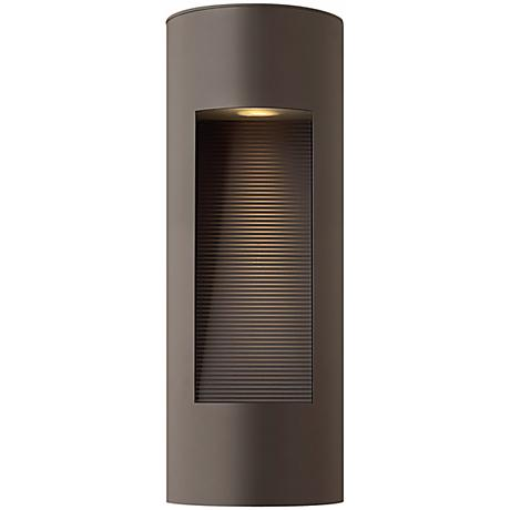 "Hinkley Luna Dark Sky 16"" High Bronze Outdoor Wall Light"