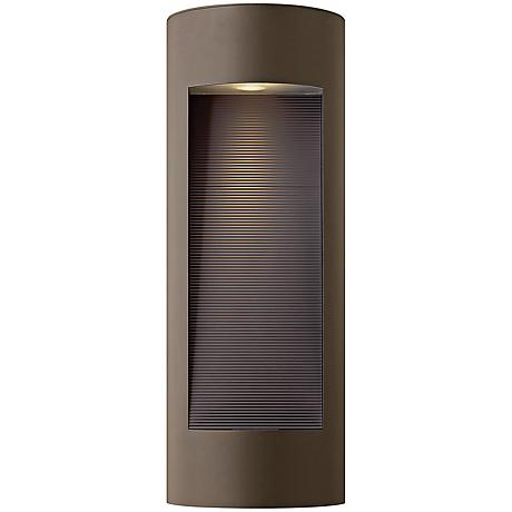 "Hinkley Luna Dark Sky 24"" High Bronze Outdoor Wall Light"