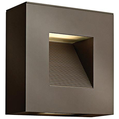 "Hinkley Luna 9"" High Bronze Outdoor Wall Light"