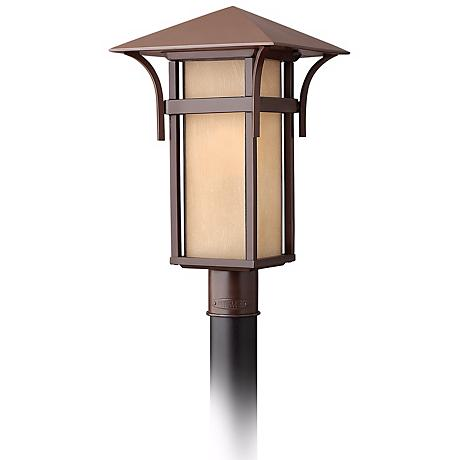 "Hinkley Harbor Collection 19 1/2"" High Post Mount Light"