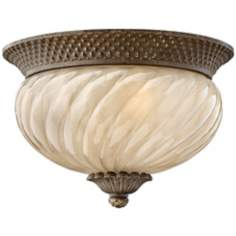 "Hinkley Hawaiian Plantation 12"" Wide Ceiling Light"