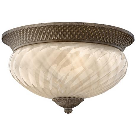 "Hinkley Hawaiian Plantation 16"" Wide Ceiling Light"