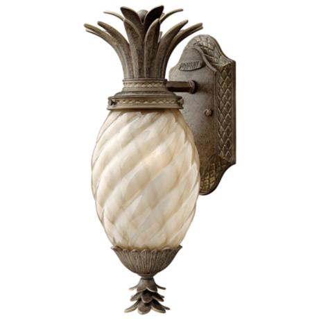 "Hinkley Hawaiian Plantation 15"" High Outdoor Wall Light"