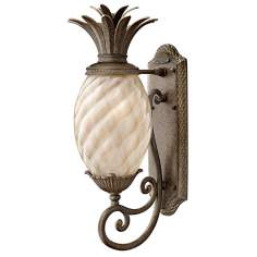 "Hinkley Hawaiian Plantation 22"" High Outdoor Wall Light"