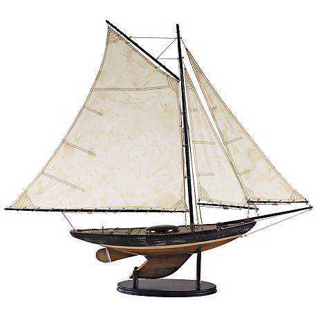 "Newport Sloop 39"" Wide Replica Model Sailboat"