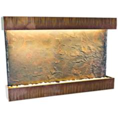 "Large Horizon Falls 33"" High Wall Fountain"