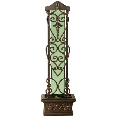 Water Trellis Antique Copper Indoor/Outdoor Fountain