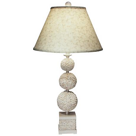 Poodle Shell Table Lamp by The Natural Light
