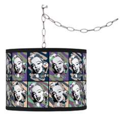 Swag Style Hollywood Dreams I Shade Plug-In Chandelier