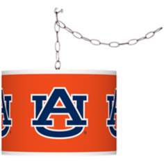 "Auburn University 13 1/2"" Wide Plug-In Swag Chandelier"