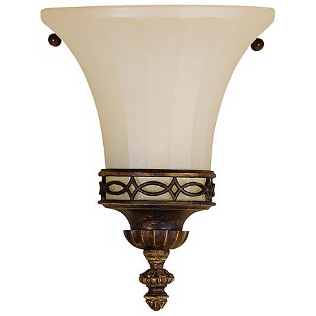"Feiss Edwardian 8"" High Wall Sconce"