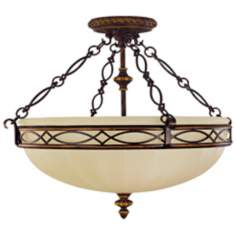 "Edwardian Collection 23"" Wide Ceiling Light Fixture"