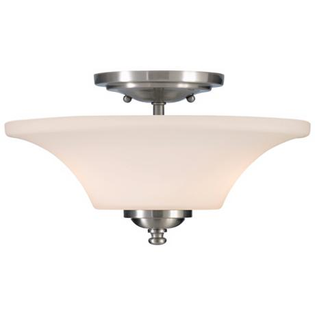 "Barrington 13"" Diameter Semi-Flushmount Ceiling Fixture"