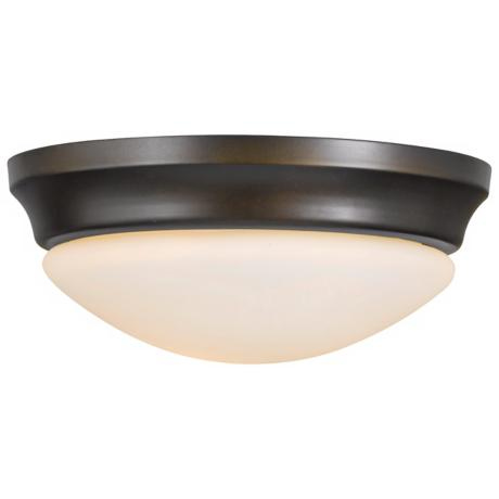"Barrington 16 1/2"" Bronze Flushmount Ceiling Fixture"