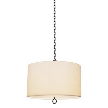 Jonathan Adler Meurice Collection Large Bronze Pendant Light
