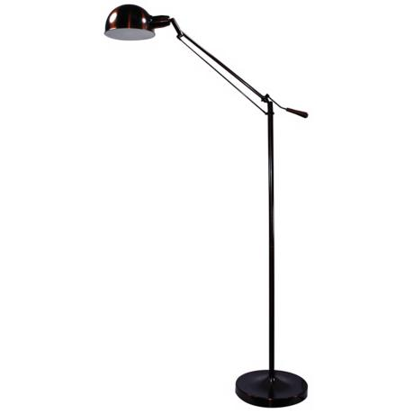 Verilux Brookfield Aged Bronze Finish Floor Lamp