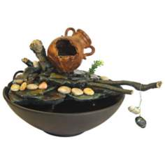 Broken Pot Tabletop Fountain