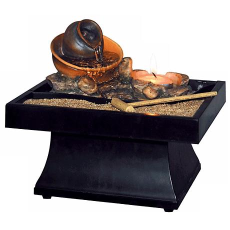 Urn Pour Zen Battery Operated Tabletop Fountain