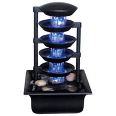 Five Tier Illuminated Fountain