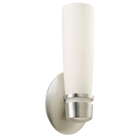 "Aria 11"" High ADA Fluorescent Brushed Wall Sconce"