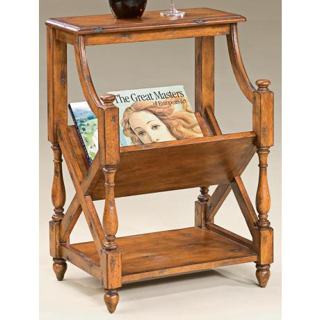 Old World Cherry Book Table