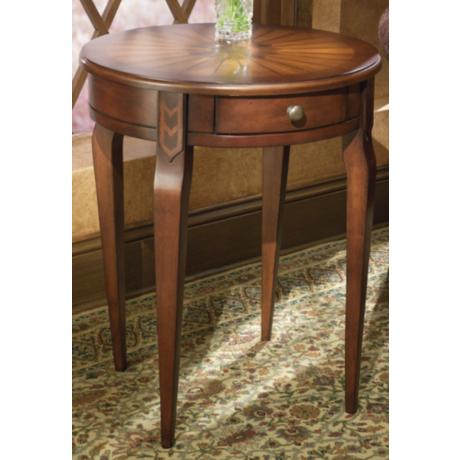 "Plantation Cherry 24"" High Side Table"