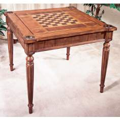 Antique Cherry Multi Game Table