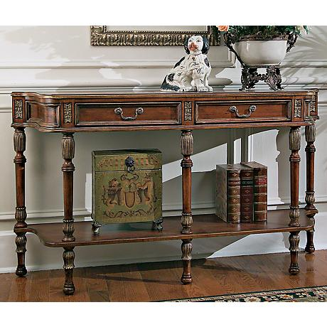 "Butler Hallmark 33"" High Console Table"