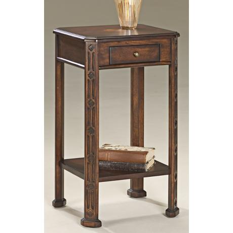 "Plantation Cherry 26 1/2"" High Accent Table"