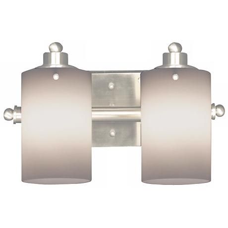 "Adano Collection 14"" Wide Two Light Bathroom Fixture"