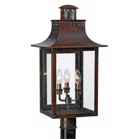 "Chalmers Collection 26"" High Outdoor Post Light"