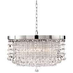 Fascination Collection Hanging Shade Crystal Pendant