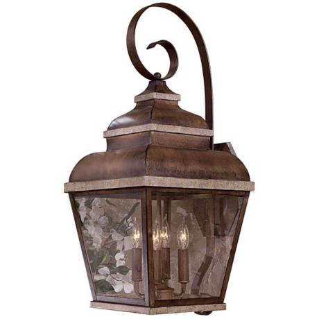 "Mossoro Collection 26 3/4"" High Outdoor Wall Light"
