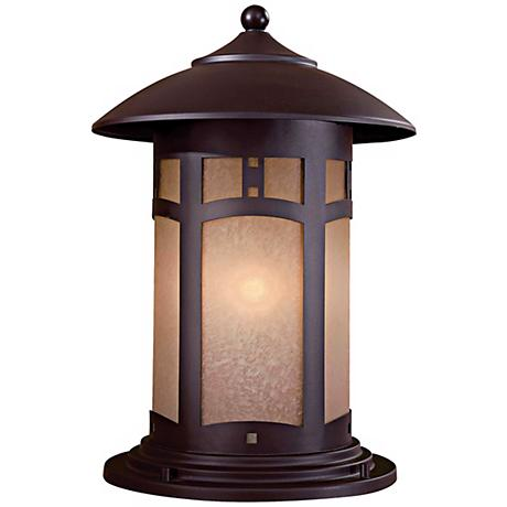"Beacon Rhodes 16"" High Pier Mount Outdoor Light"