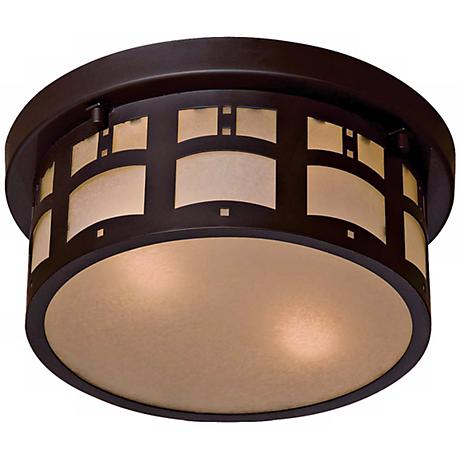 Beacon Rhodes Flush Mount Indoor - Outdoor Ceiling Light