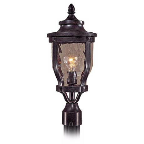 "Merrimack Collection 19 1/4"" High Post Mount Outdoor Light"