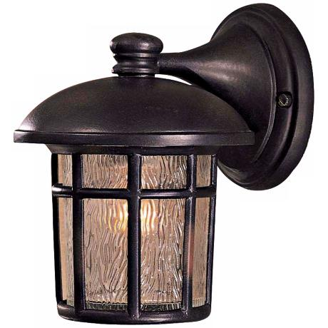 "Cranston Collection 8 3/4"" High Outdoor Wall Light"