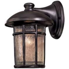 "Cranston 12 3/4"" High Heritage Finish Outdoor Wall Light"