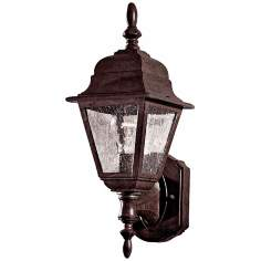 "Bay Hill Collection 15 3/4"" High Antique Bronze Wall Light"