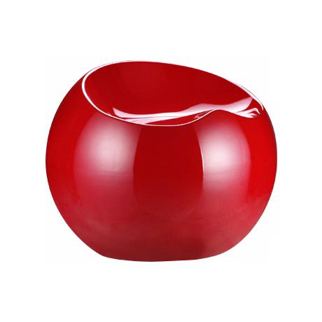 Zuo Drop Stool Collection Red Contemporary Chair
