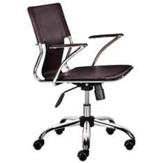 Trafico Espresso Office Chairs