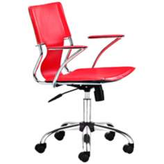 Trafico Red Office Chairs