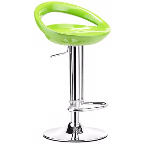 Zuo Tickle Green Adjustable Height Bar or Counter Stool
