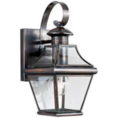 "Carleton Collection 11 1/2"" High Outdoor Wall Light"