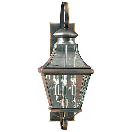 "Carleton Collection 23"" High Outdoor Wall Light"