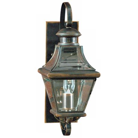 "Carleton Collection 18"" High Outdoor Wall Light"